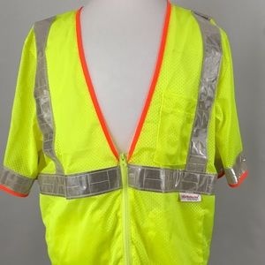 3A Safety Vest with REFLEXLITE. NWOT M397-6